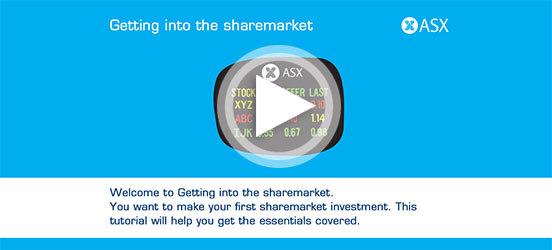 Getting into the sharemarket